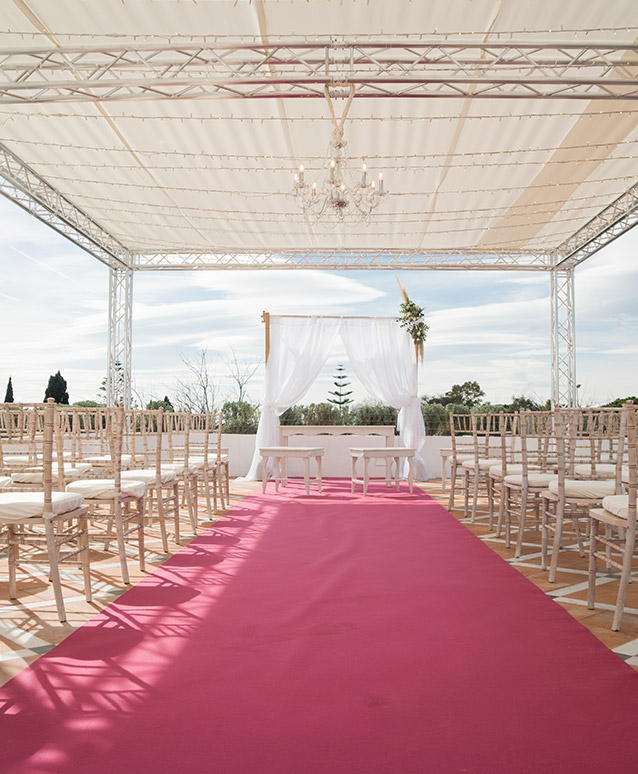 Boda civil en Marbella